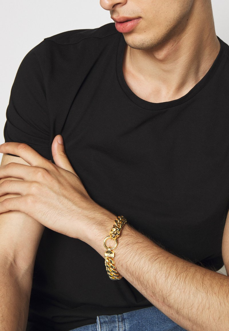 Northskull - ATTICUS CHAIN BRACELET - Pulsera - gold-coloured
