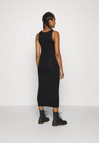Weekday - STELLA DRESS - Jersey dress - black - 2