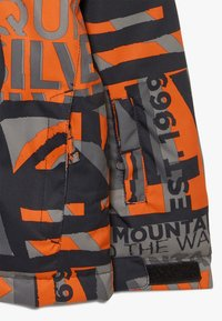 Quiksilver - MISSION - Snowboardová bunda - pureed pumpkin isere point - 2