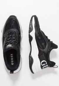 Guess - FRANKEY - Trainers - black - 3