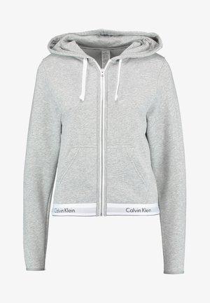 MODERN LOUNGE FULL ZIP HOODIE - veste en sweat zippée - grey