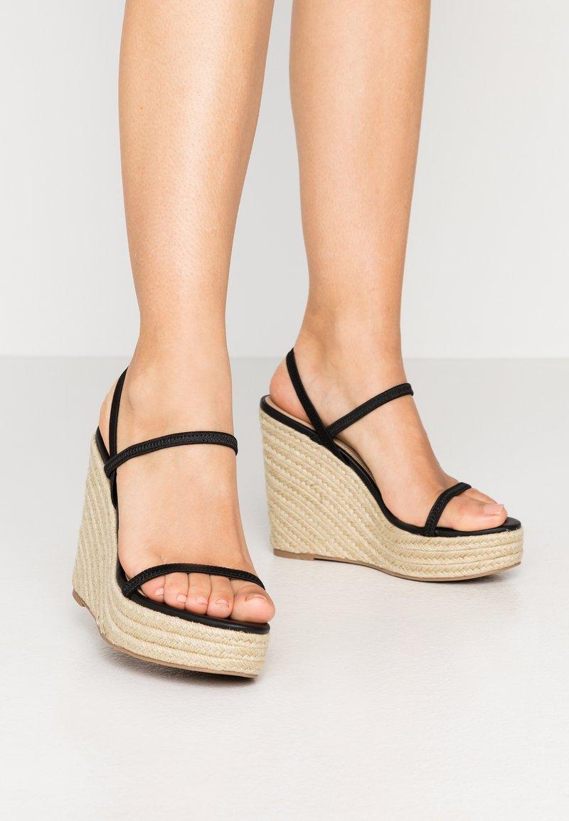Steve Madden - SKYLIGHT - Sandály na vysokém podpatku - black