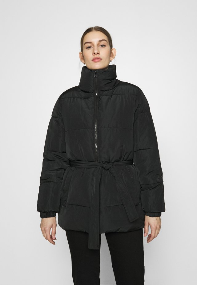 DAXTON JACKET - Zimní kabát - black