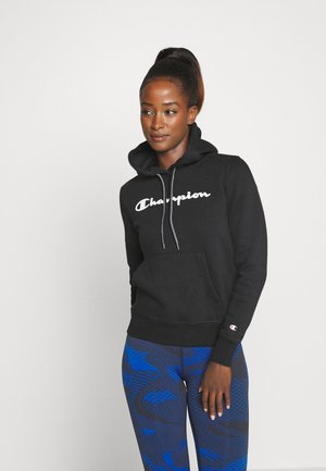 ESSENTIAL HOODED LEGACY - Sweat à capuche - black
