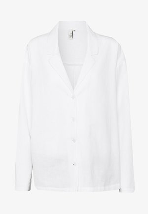 BLAZER SHIRT - Button-down blouse - white