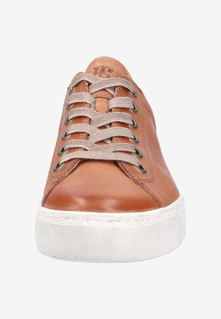 Sneaker low brown