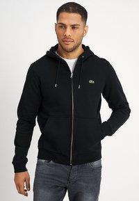 Lacoste - Zip-up hoodie - noir - 0