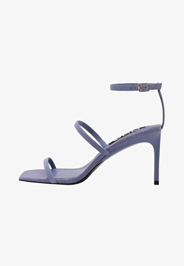 Sandales à talons hauts - lavande