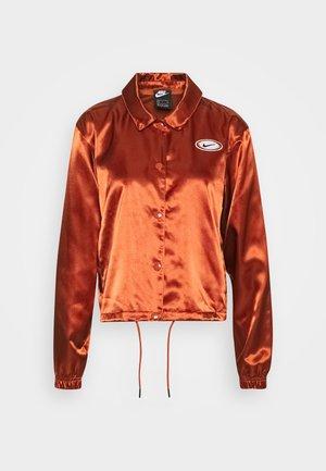 Bomber Jacket - firewood orange