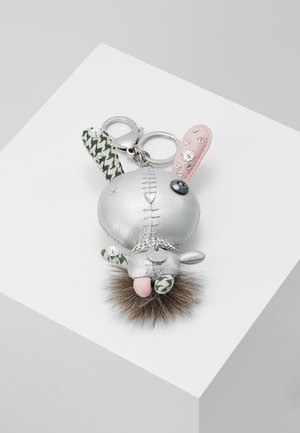 MATHILDE BAG CHARM - Breloczek - grey