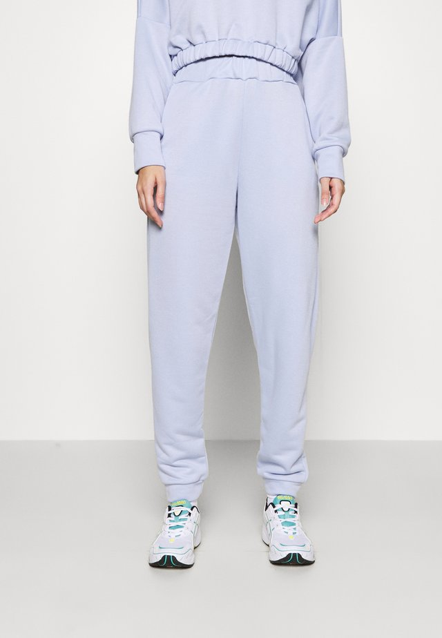 ELASTICATED JOGGER - Spodnie treningowe - blue