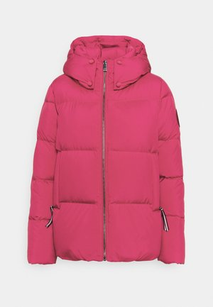 PUFFY HOODED - Daunenjacke - royal magenta