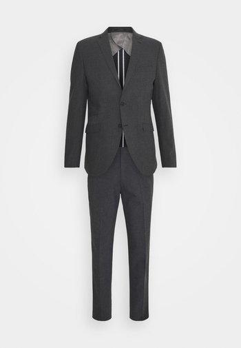 SLHMATTHEW  - Kostuum - dark grey/structure