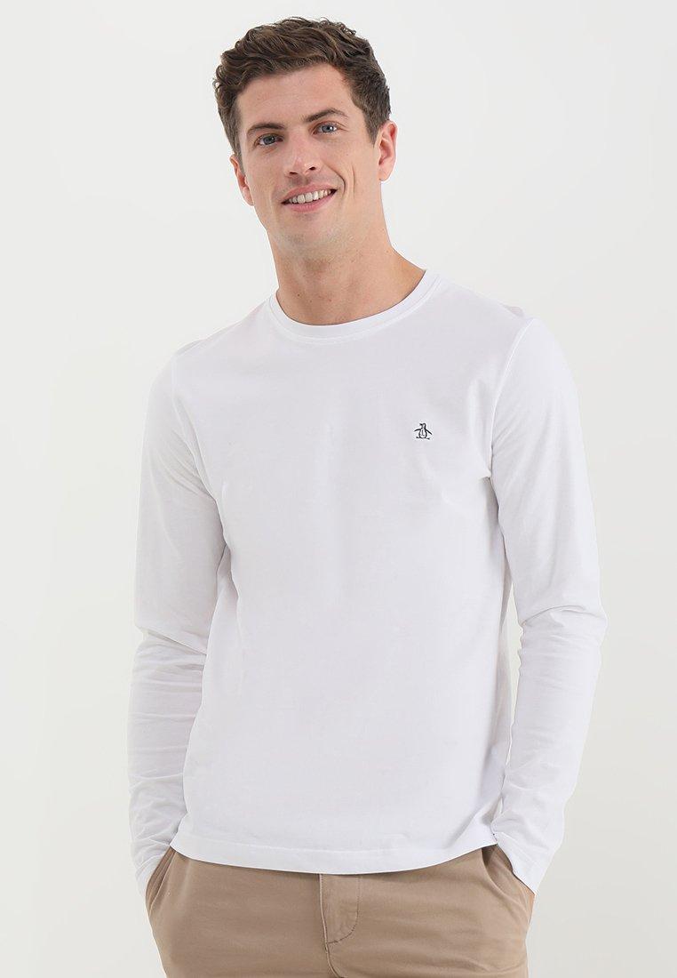 Original Penguin - Top sdlouhým rukávem - bright white