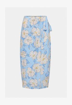 Pencil skirt - light blue/light pink