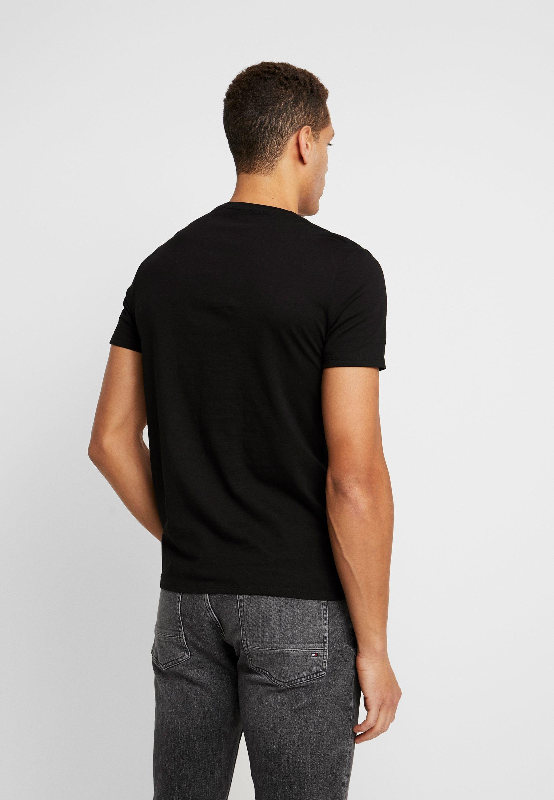 Guess CORE TEE - Basic T-shirt - jet black QjZfe
