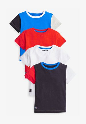 4 PACK - Print T-shirt - multi-coloured