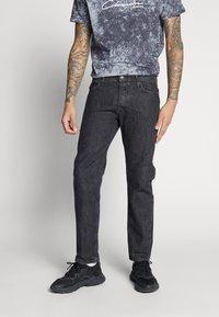 Jack & Jones - JJIMIKE - Jeans slim fit - black denim - 0