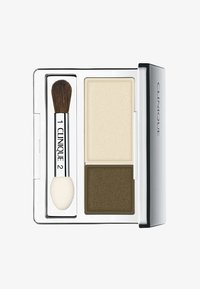 Clinique - ALL ABOUT SHADOW DUO - Eye shadow - 10 mixed greens - 0