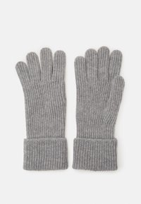 Johnstons of Elgin - 100% Cashmere Gloves  - Gloves - silver - 0