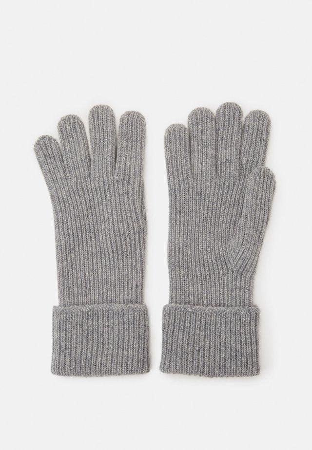 100% Cashmere Gloves  - Gants - silver