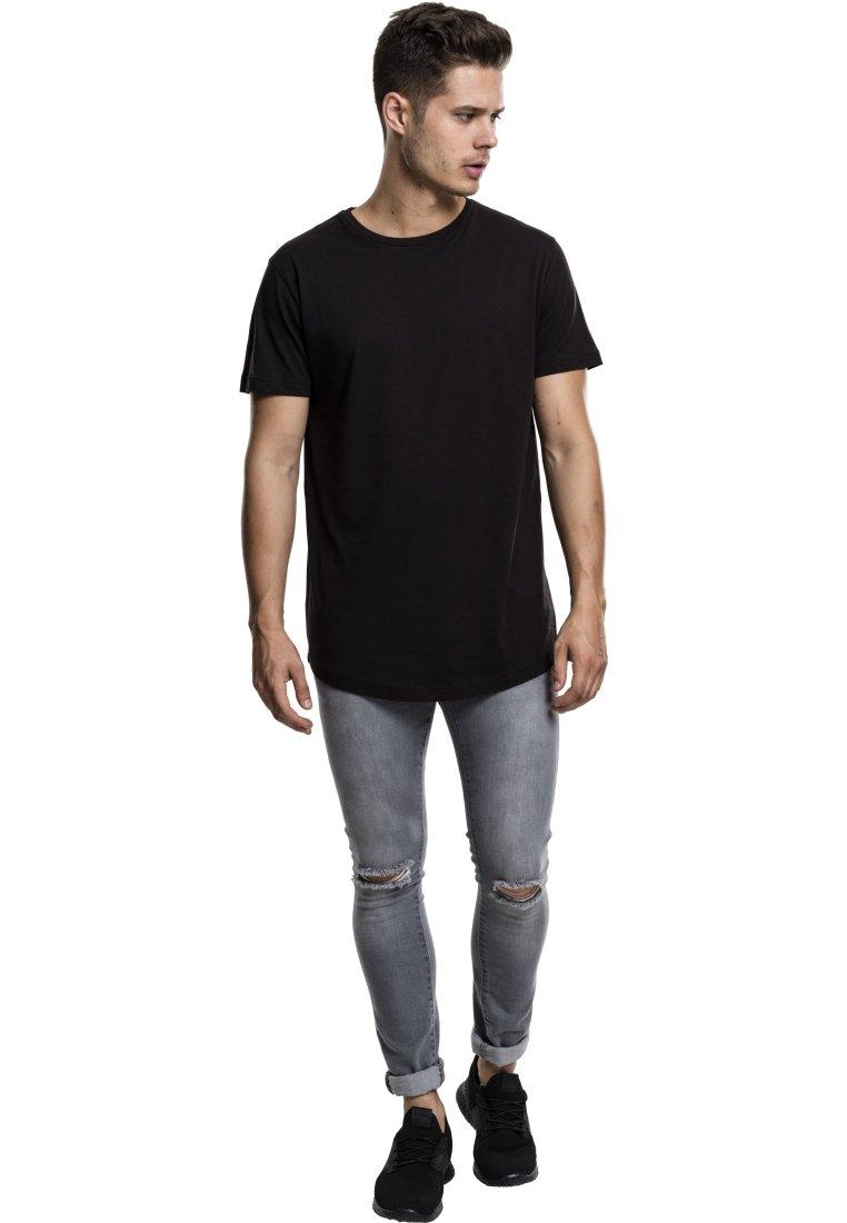 Herrer SHAPED LONG TEE DO NOT USE - T-shirts basic