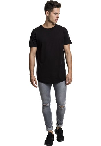 SHAPED LONG TEE DO NOT USE - T-shirt - bas - black