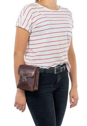 NELLY - Bum bag - dark brown