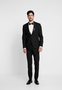 Bertoni - LAPEL TUX - Suit - black - 0