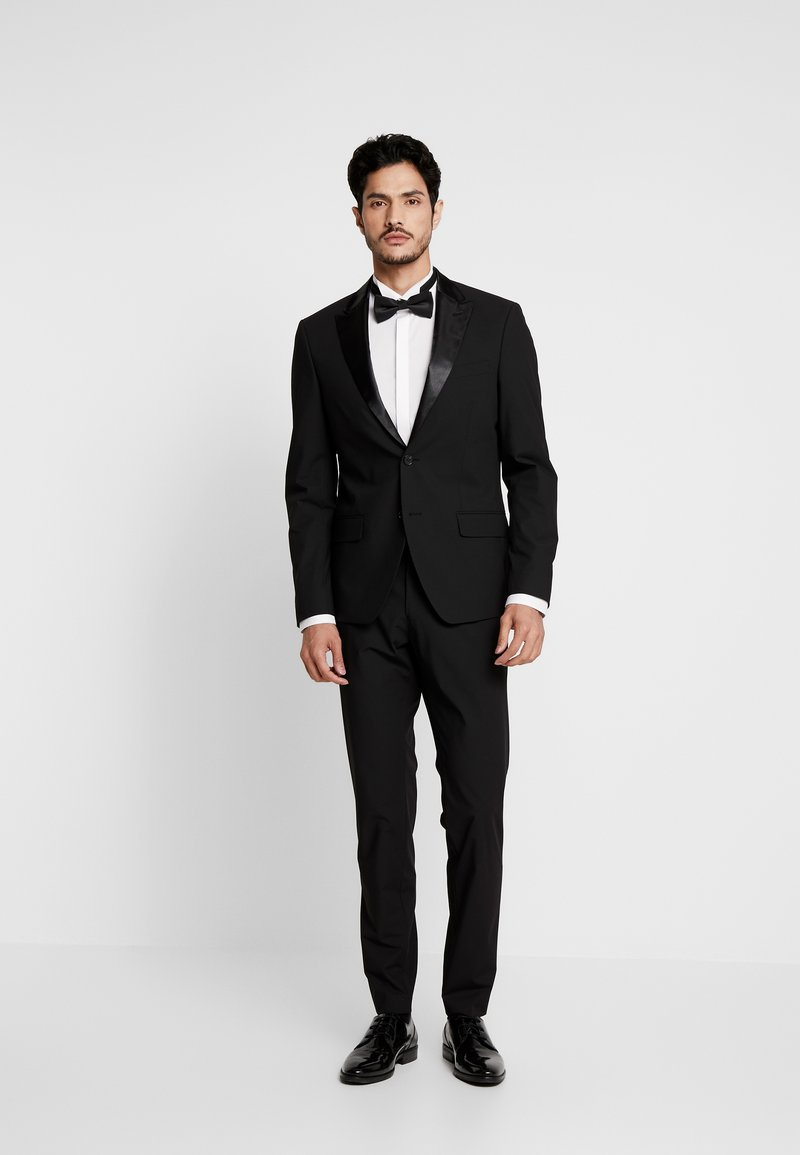 Bertoni - LAPEL TUX - Suit - black