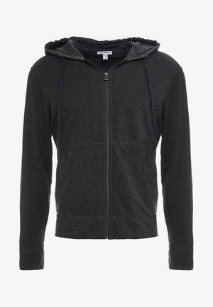 VINTAGE HOODIE - Zip-up hoodie - carbon