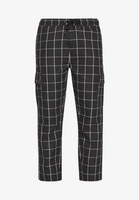 D-STRUCT - BEGAZI - Cargo trousers - black - 4