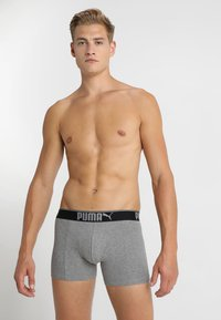 Puma - LIFESTYLE 3 PACK  - Culotte - grey melange - 0