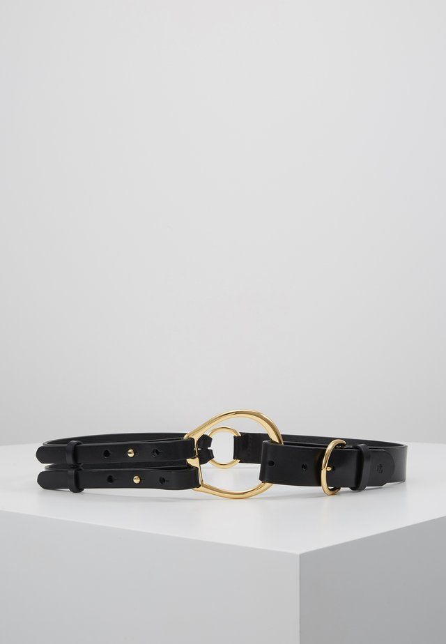 REFINED TRI STRAP  - Midjebelte - black
