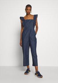 GAP - Tuta jumpsuit - medium indigo - 0
