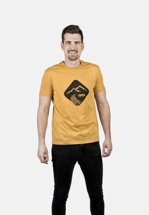 T-shirt imprimé - gold honey