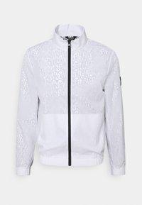 Calvin Klein - TRANSPARENT RIPSTOP LOGO BLOUSON - Summer jacket - white - 5
