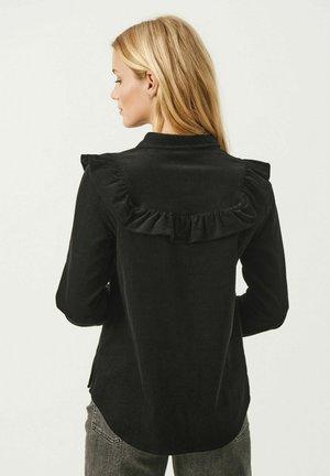 HERDISPW  - Button-down blouse - black