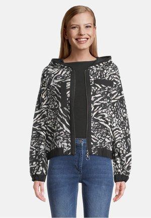 Summer jacket - schwarz/grau