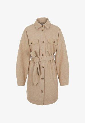 PCRIEMA JACKET - Classic coat - taupe gray