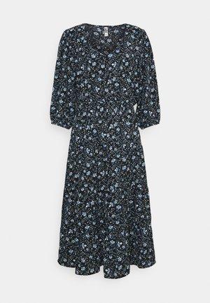 JDYVICKY ABOVE CALF DRESS - Kjole - black