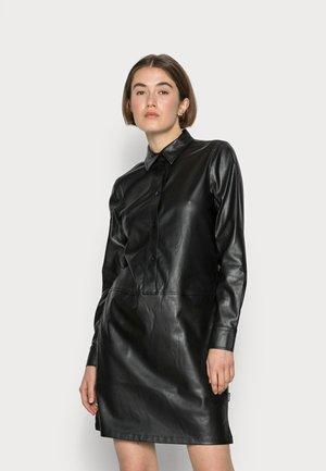 RECYCLED DRESS - Jurk - black