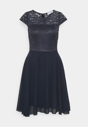 PEYTON SKATER DRESS - Vestito elegante - navy