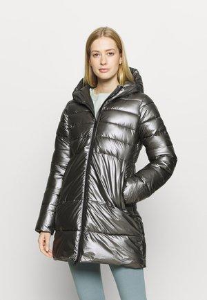 HOODED LEGACY - Training jacket - metallic black