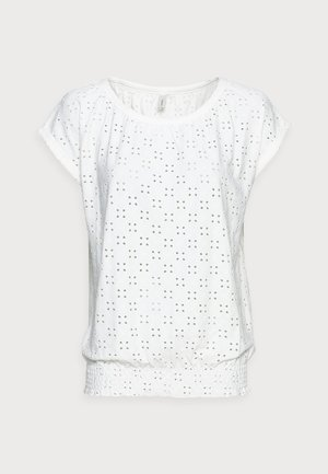 INGELA - T-shirts med print - offwhite
