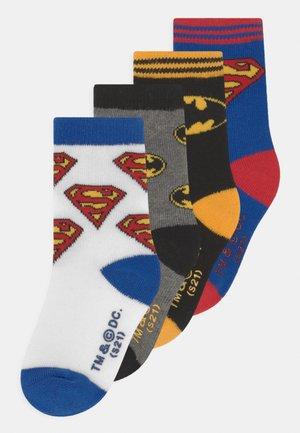 HERO 4 PACK UNISEX - Socks - multi-coloured