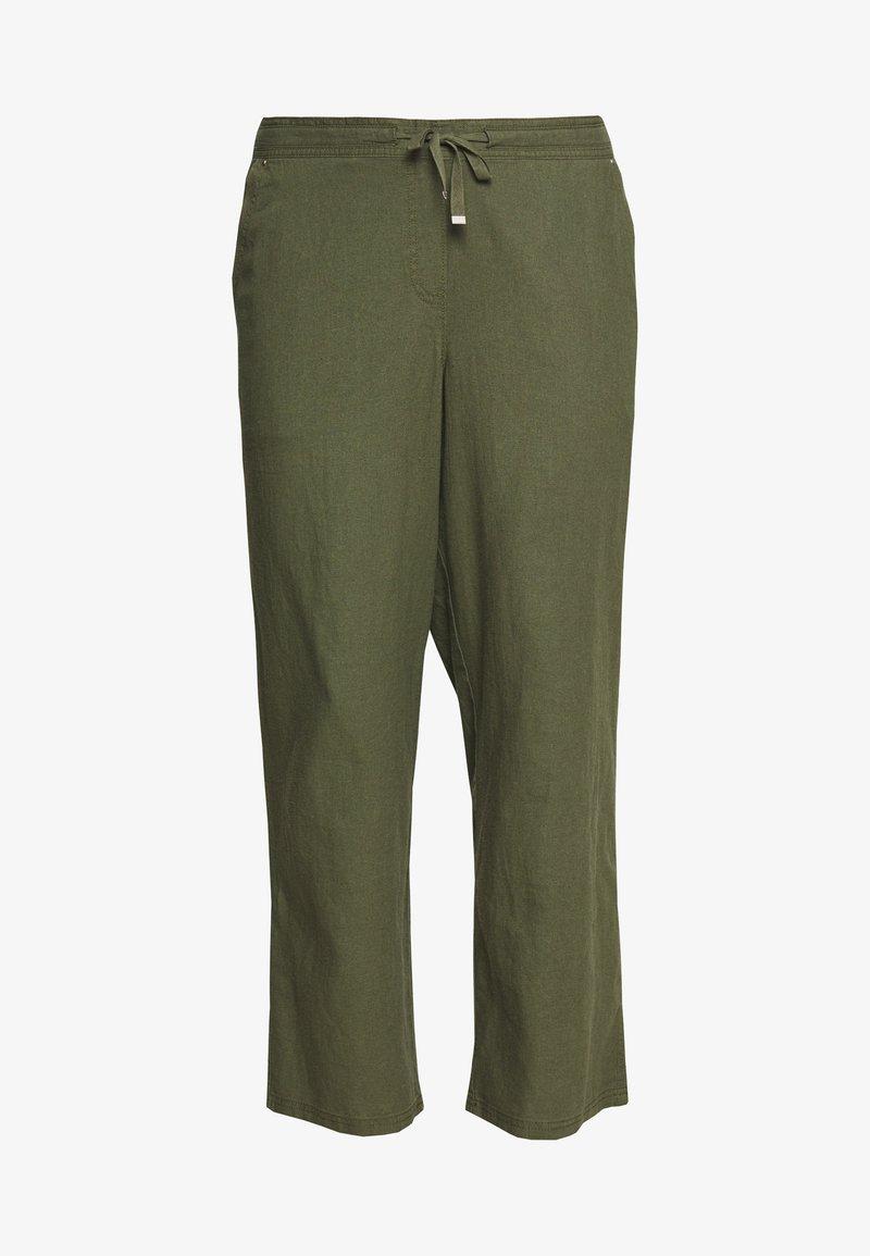 Evans - BLEND TROUSER - Trousers - khaki