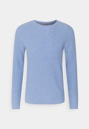 JPRMARCELKNIT CREW NECK - Neule - dusk blue
