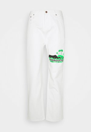 MADAGASCAR - Relaxed fit jeans - white
