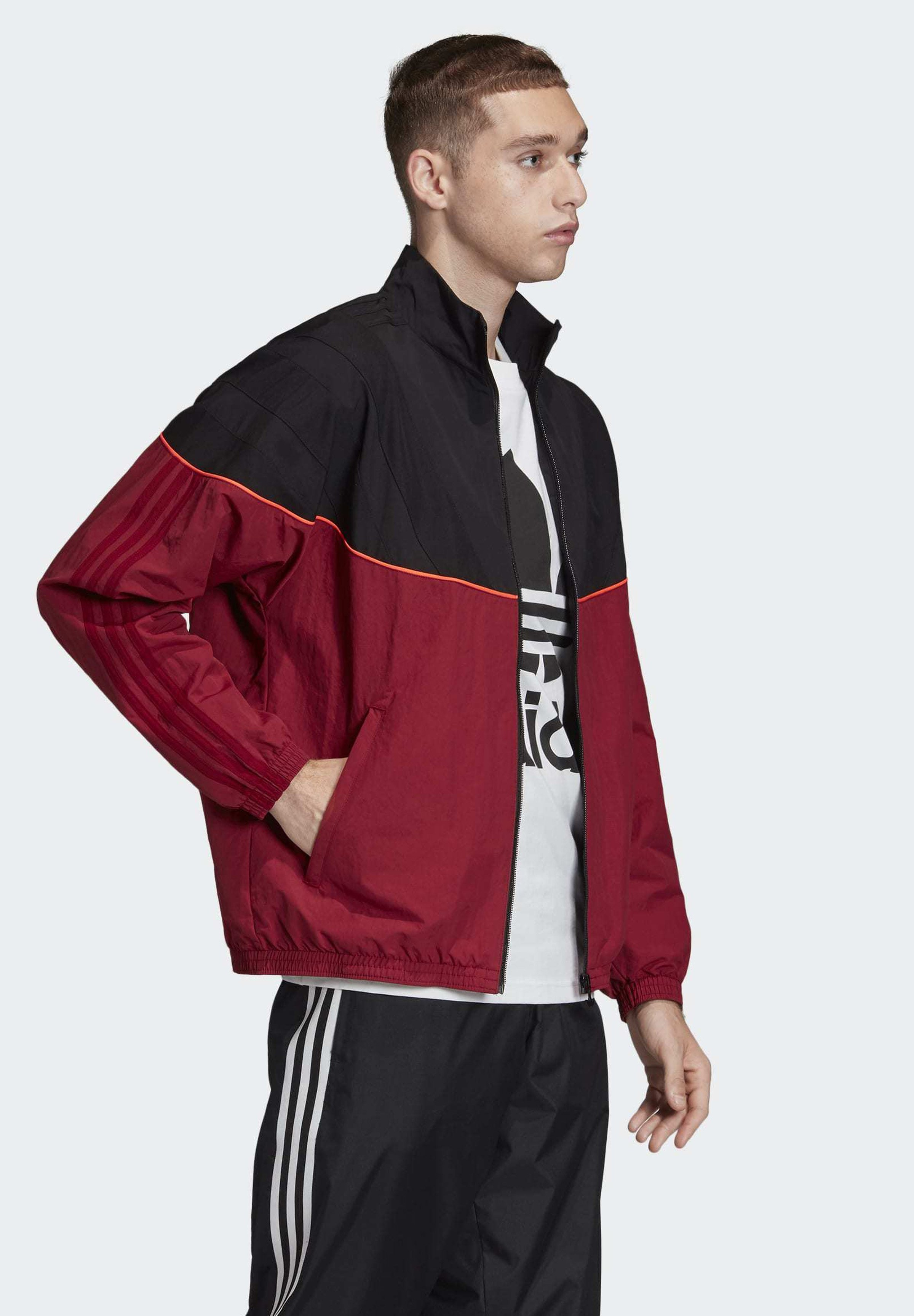 adidas Originals BALANTA 96 TRACK TOP Trainingsjacke red